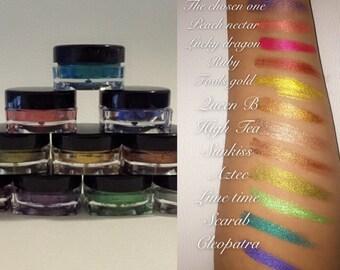 Multi paste (long lasting semi-matte metallic makeup)