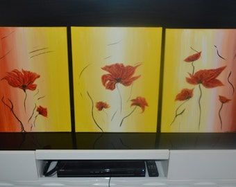 acrylic painting (set of 3)