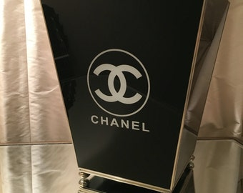 Chanel trash can