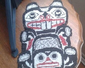 hand done bead art