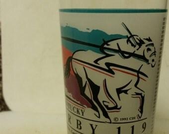 Vintage 1993 Kentucky Derby Mint Julep Glass