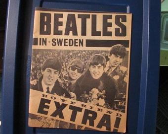 The Beatles In Sweden Magazine 1963, Boyfriend Extra