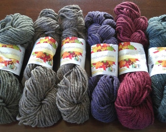 3-ply bulky yarn