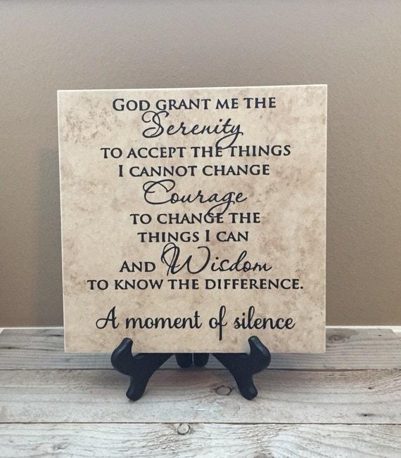 Serenity Prayer Serenity Name Sign Family by ...
