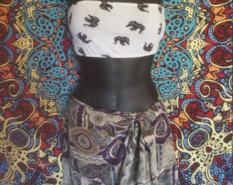 Mystical Skirt That Doubles as a Shall