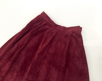 Christian Dior Suede Skirt