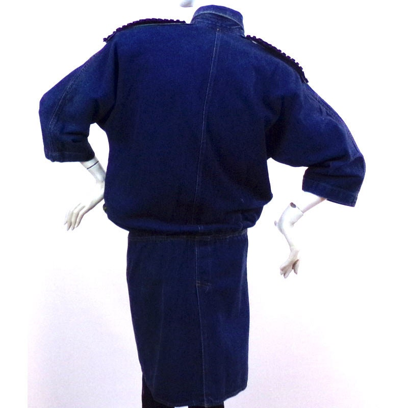 Robe en jean taille 40