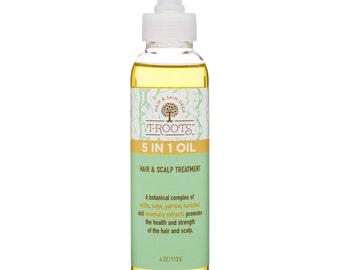 5-in-1 Oil Hair & Scalp Treatment