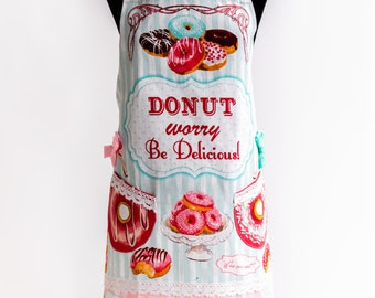 Apron Doughnut By Kitchen-chic