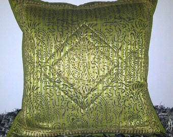 SALE Pillow Covers 16x16 Green Decorative Throw Pillow Covers Cushion Covers