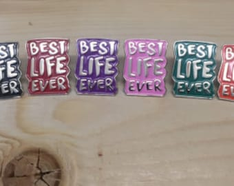 Color variety pack 8 better life has always Lapel Pins 8 ! espanol  amd english