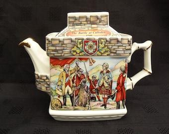 Sadler Teapot, Folklore Series, Bonnie Prince charles