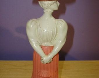 Vintage Avon Lady-Shaped Perfume Bottle