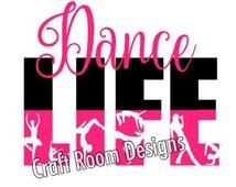 Dance Life SVG Design
