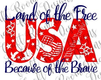 USA Collage Digital Design