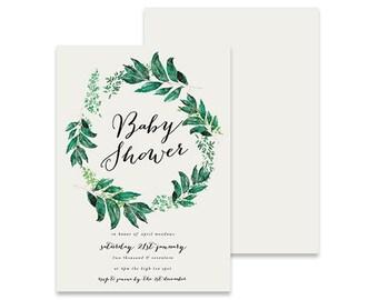 Printable Baby Shower Invitation | The Birds Nest | Printable DIY Invite, Affordable Invitation, Digital Invite, Baby Shower Printable
