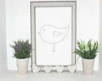 Bird Digital print.