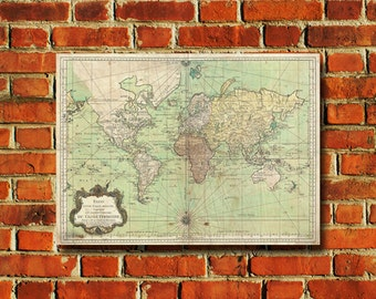 World Map Poster - #405