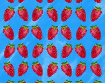 A4 Strawberry Print