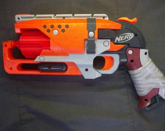 NERF Hammershot 7 Dart Cylinders - Red (set of two)