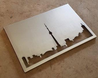 Custom Metal Skyline Wall Art (Any Skyline!)