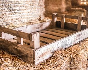Decorative Rustic Wooden Crates