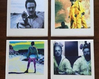 Breaking Bad Polaroid Photo Coasters