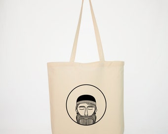 Hipster Gin tote bag