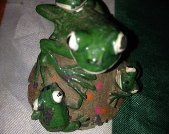 Froggy decorate item for Fish Tank