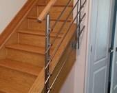 Modern Stairs Balcony Hand Rail Staircase Railing Kit - Aluminium