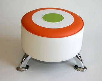Warhol Style Target footstool