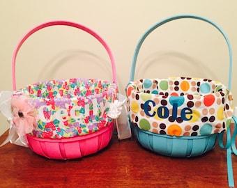 CUSTOM Easter basket liner!