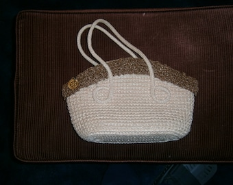 Vintage Straw Purse made in Japan