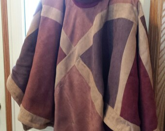 hand tailored OOAK poncho/cape