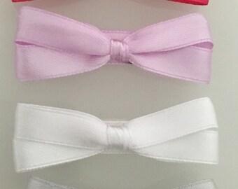 Velcro baby hair bows