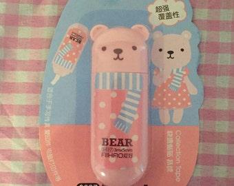 Kawaii Bear correction tape
