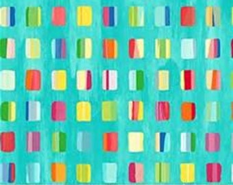 Northcott Painters Palette turquoise cotton quilt fabric  - sold by the yard