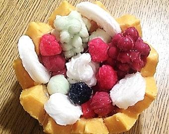 Melon Bowls Candle Tarts