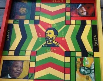 Haile Selassie Ludi Board