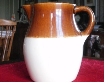 "ROSEVILLE POTTERY PITCHER  - 6"" tall with @ 30 capacity"