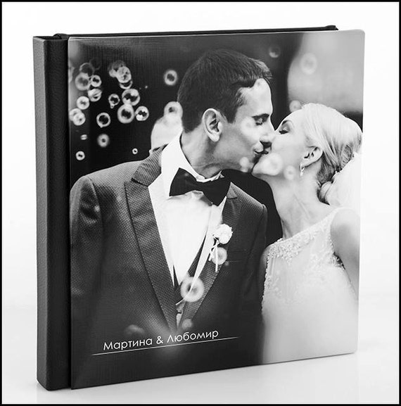 custom wedding album personalized wedding photo album 8x8 inches