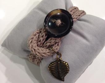Bohemian bracelet handmade