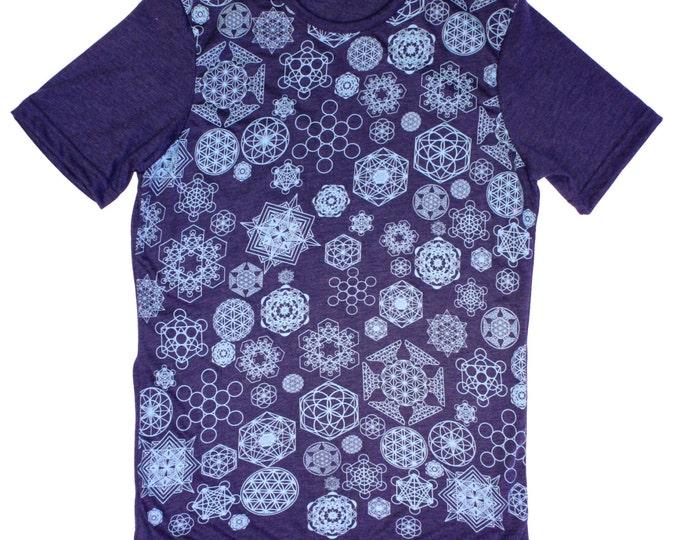 Sacred Geometry Snowflakes