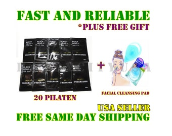 20x Pilaten Deep Cleansing Blackhead Remover + Facial Cleansing Pad