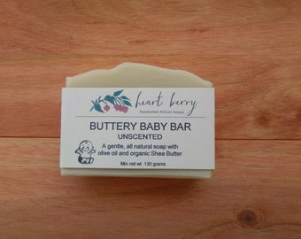 Buttery Baby Bar (80% Olive Oil Soap)