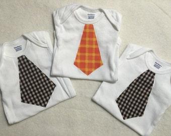 Boy Tie Onsie