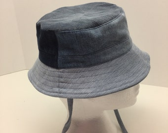Recycled denim Hat