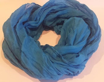 Blue Fashion Scarf