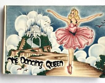 First Edition THE DANCING QUEEN Vintage Ballet Book Hardback Children's Book
