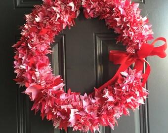 Large Rag Wreath